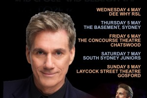 David Hobson 'Up Close & Personal' Mothers Day Week Concerts